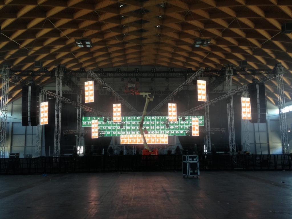 Hardwell Rimini 2013 setup